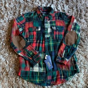 Polo by Ralph Lauren Plaid Heavy cotton button up
